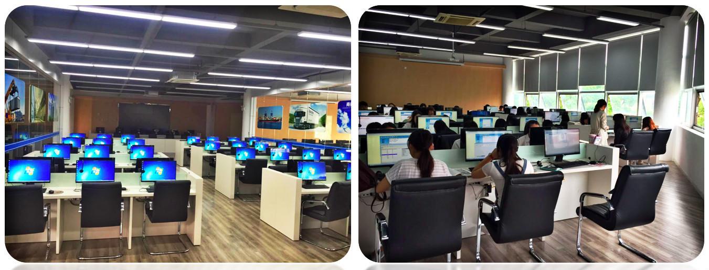 上海交通职业技术学桌面云机房图