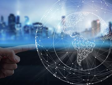 SD-WAN应用场景-跨国集团全球组网