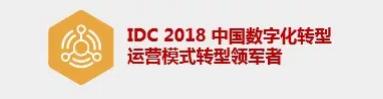 IDC 2018中国数字化转型运营模式转型领军者